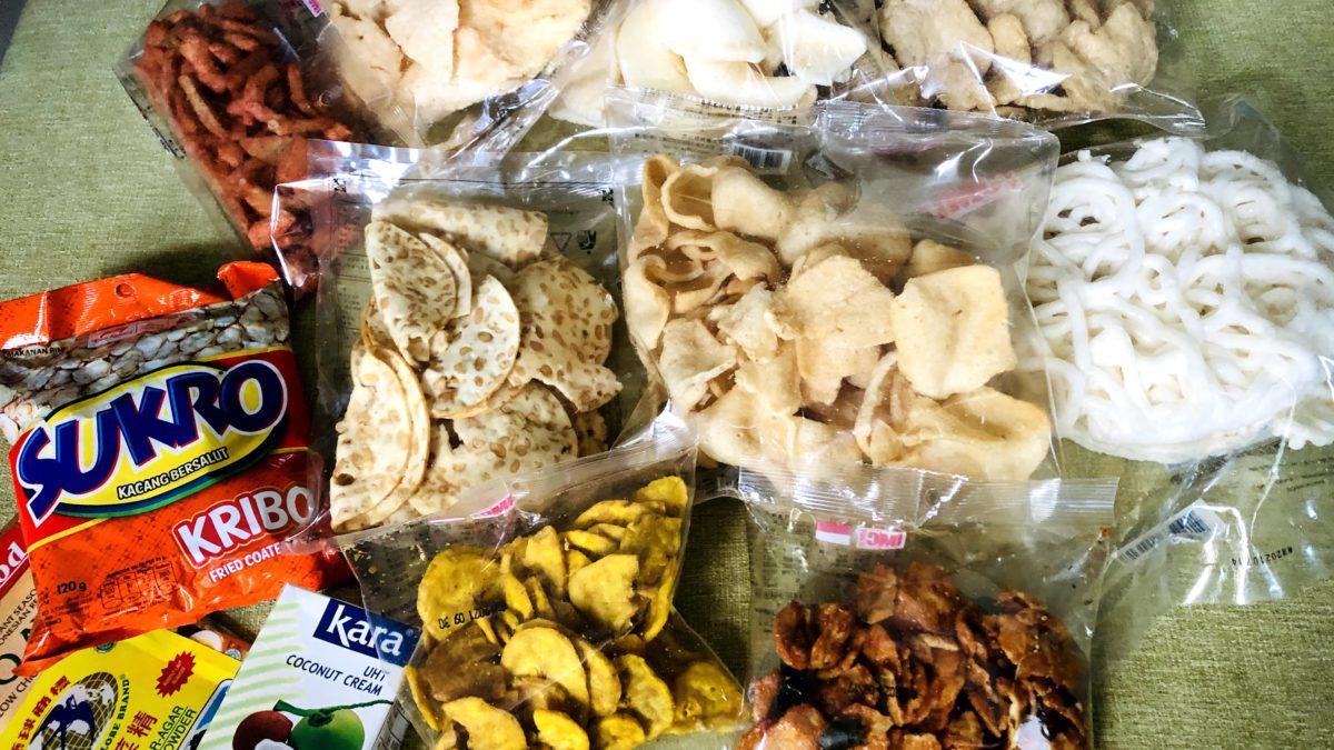 無麩質零食印尼商品